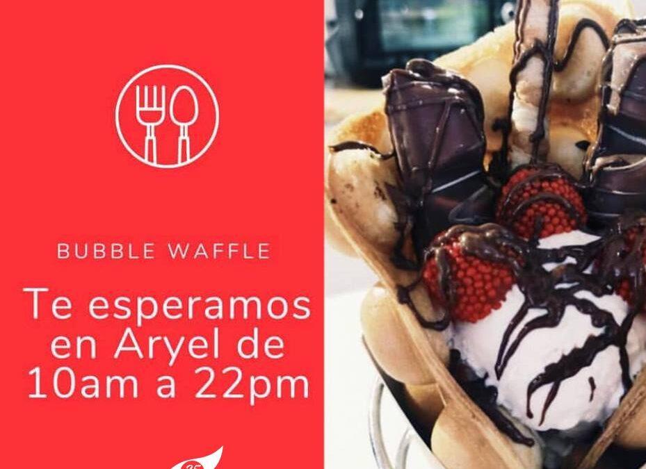 Bubble Waffle ¿Todavía no lo has probado?