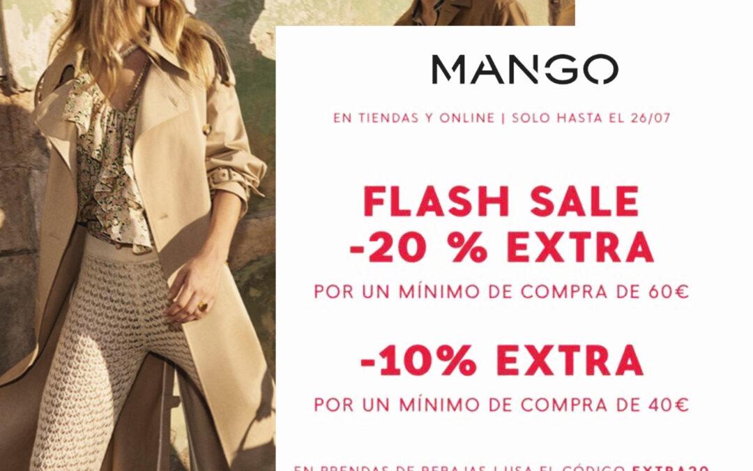 FLASH SALE: ¡-20% EXTRA por compras desde 60€