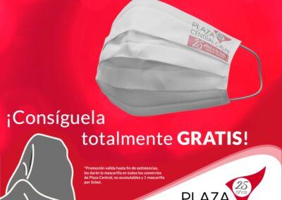 ¡Gratis la mascarilla de #PlazaCentralCalpe!