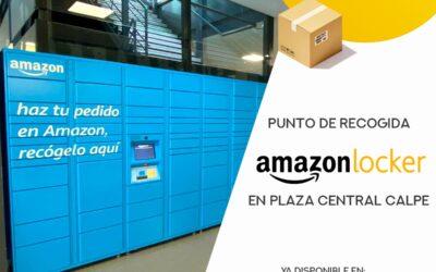 ¡Nuevo punto #amazonlocker en Plaza Central Calpe!