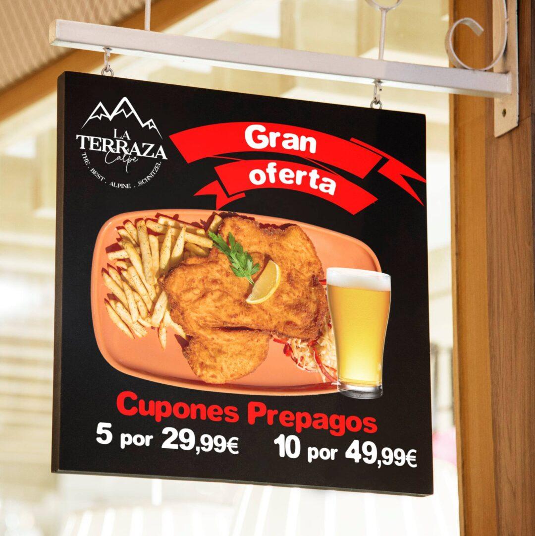 ¡El mejor escalope ahora para llevar!🥩🔝 Ven y pide para llevar uno de los mejores platos de la gastronomía austriaca, el escalope schnitzel. ¡Y con esta gran oferta! 👏Estamos seguros que te encantará😋. Descúbrelo en nuestro restaurante La Terraza. ___________ The best escalope now to go! 🥩🔝 Come and order to take away one of the best dishes of Austrian gastronomy, the schnitzel escalope. And with this great offer! 👏We are sure you will love it😋. Find out in our restaurant La Terraza. . . . La Terraza - El Mejor Escalope en Calpe