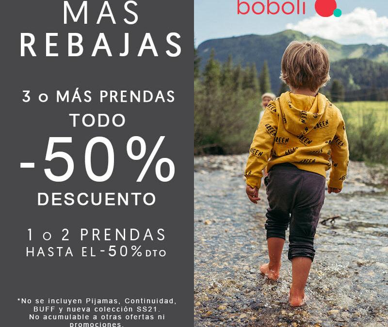 TODO al -50% de descuento en BOBOLI