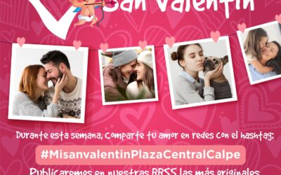 La semana más romántica en Plaza Central Calpe