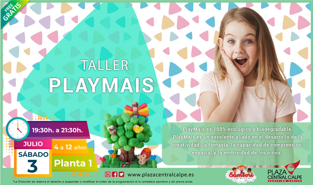 TALLER-PLAYMAIS-PLAZACENTRAL