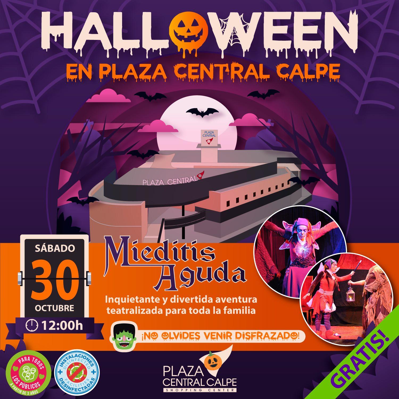 Halloween en Plaza Central Calpe